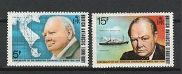 BAT British Antarctic Territory 1974 YT N° 62 Et 63 ** - Unused Stamps