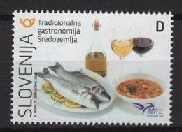 Slovenia (2020) - Set -  /  Euromed Joint - Food - Gastronomie - Gastronomy - Gastronomia - Emissioni Congiunte