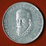 JETON COMMEMORATION 400 ANS DE LA MORT DE GONZALO JIMENEZ DE QUESADA / 1579-1979 - Monarchia/ Nobiltà