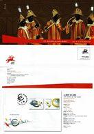Portugal 2009 , Brochure , Pagela , Euro , Darwin , Urban Transports , African Heritage , Franciscan - Otros (desde 1941)