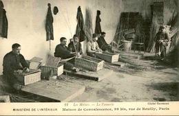 FRANCE - Carte Postale - Paris - Les Vanniers - Maison De Convalescence Rue De Neully - L 66504 - Petits Métiers à Paris