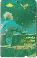 Turkey - TT - Alcatel - R Advert. Series - Turksat 1C, Child (Bigger Face Value) R-099, 30U, 1996, Used - Turquie