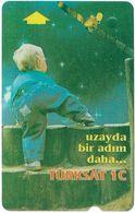 Turkey - TT - Alcatel - R Advert. Series - Turksat 1C, Child (Bigger Face Value) R-100, 60U, 1996, Used - Turquie