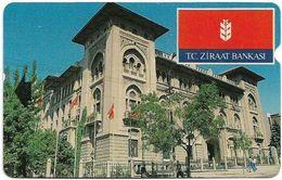 Turkey - TT - Alcatel - R Advert. Series - TC Ziraat Bankasi, Building, R-079, 60U, 1995, Used - Turquie