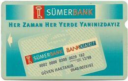 Turkey - TT - Alcatel - R Advert. Series - Sumerbank, R-092, 60U, 1996, Used - Turquie