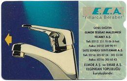 Turkey - TT - Alcatel - R Advert. Series - ECA Tap, R-18, 30U, 06.1994, 240.375ex, Used - Turquie