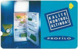 Turkey - TT - Alcatel - R Advert. Series - Refrigerator, R-127, 60U, 1998, Used - Turquie
