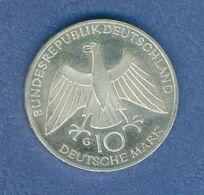 GERMANIA YEAR 1972 - VERY FINE - SILVER - 10 MARCHI OSSIDO NATURALE NON PULITA - GIOCHI OLIMPICI A MONACO ( G ) - [10] Commémoratives