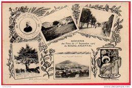 CPA 42 BOURG ARGENTAL  Souvenir Des Fêtes Du 1 Er Septembre 1907 Multivues Ferme De La Celle   ( D100 ) Vues - Bourg Argental