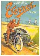 Repro Affiche Cycles Et Motocycles TERROT à Dijon  Par Nick CPM Clouet 10692 - Werbepostkarten