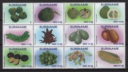 Suriname (2020) - Set -  /  Fruits - Frutas - Fruits