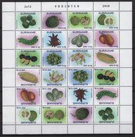 Suriname (2020) - MS -  /  Fruits - Frutas - Fruits