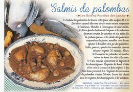 LE SALMIS DE PALOMBES  : Edit: JACK N° 8770  (neuve) - Recetas De Cocina