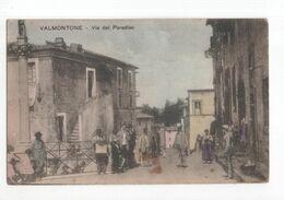 Italië Italy Italien - Valmontone - Via Del Paradiso - 1910 - Non Classés