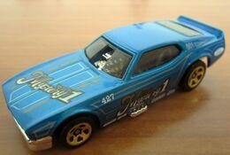 HOT WHEELS  '71 MUSTANG FUNNY CAR NEW - HotWheels