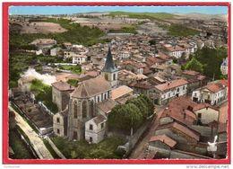 CPSM 42 En Avion Au Dessus De SAINT GERMAIN LAVAL St L' église    * Format CPM - Saint Germain Laval