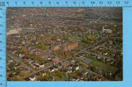 Postcard - Quebec -Partie Ouest De Sherbrooke Vue Aerienne - Canada - Sherbrooke