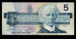 Canada - 5 Dollars - 1986 (verso Voir Scan) - Canada