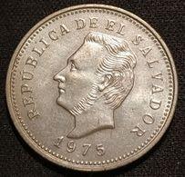 EL SALVADOR - 5 CENTAVOS 1975 - KM 149 - El Salvador