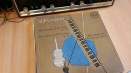 Schumann  - Piano Quartet - Piano Quintet  - Barchet Quartet - Vox - Classical
