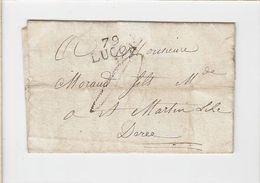 Lettre / Cachet Luçon 79 - Gebührenstempel, Impoststempel