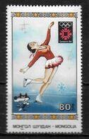MONGOLIE   N° 1289   * *   JO 1984   Patinage - Figure Skating