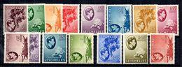 Seychelles YT N° 118/132 Neufs *. B/TB. A Saisir! - Seychelles (...-1976)
