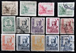 Petit Lot De La Série N° 814 à 831 - 1931-Aujourd'hui: II. République - ....Juan Carlos I