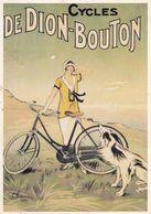 Cycles  DE DION-BOUTON - Werbepostkarten