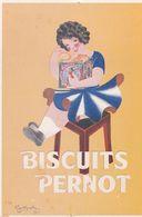 BISCUIT PERNOT - Werbepostkarten