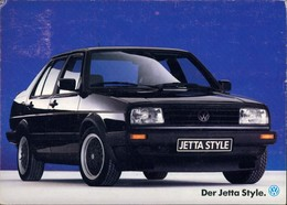 Ansichtskarte  Auto Reklame & Werbung VAG Volkswagen Modell JETTA 1980 - Werbepostkarten