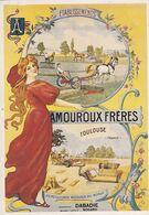 AMOUROUX FRÈRES - Werbepostkarten
