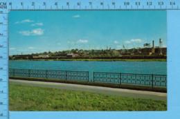 Postcard - Quebec - Sherbrooke, Riviere Magog + Quartier Industriel - Canada - Sherbrooke