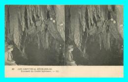 A803 / 315 64 - BETHARRAM Les Grottes Carte Stéréoscopique - Lestelle-Bétharram
