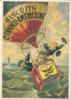 Biscuits De La Cie FRANCO-AMÉRICAINE - Werbepostkarten