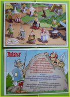 KINDER BPZ SERIE ASTERIX ET LES ROMAINS POLOGNE SLOVAQUIE TCHEQUIE 2005 - Istruzioni