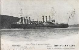 Flotte De Guerre Française - Croiseur Cuirassé JEANNE D'ARC - Chocolat Klaus - Warships