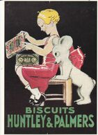 BISCUITS  HUNTLEY & PALMERS - Werbepostkarten