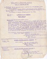 Militaria  Documents Citation A L'ordre Du 21 Régiment Infanterie Coloniale Au Lieutenant Josan Indochine 1949 - Documents