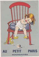 AU PETIT PARIS - Werbepostkarten