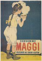MAGGI   Déjeuner Au Cacao-Gluten - Werbepostkarten