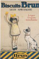 Biscuits BRUN - Werbepostkarten