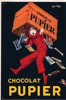 CHOCOLAT PUPIER - Werbepostkarten