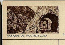 Carte Illustrée Neuve N° 163 - 0110 D  --  GORGES DE MOUTIER (J. B. ) - Entiers Postaux