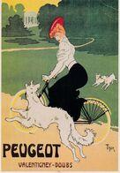 PEUGEOT - Werbepostkarten
