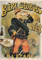 BIÈRE GEORGES DE LYON  A L'ETAPE - Werbepostkarten