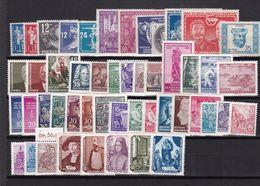 DDR, Lot Von Marken Der Jahre 1949/55* (K 6709) - Nuevos