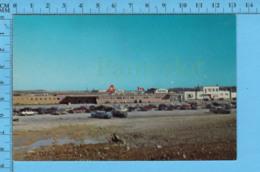 Postcard - Newfoundland - St-John's Airport Torbay, Old Car - Canada - St. John's