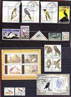 20 Marken Motiv Vogel In Unterschiedlichen Erhaltungen (96643) - Colecciones & Series