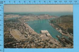 Postcard - Newfoundland - St-John's  Aeria View Looking East, Land Locker Harbour  - Canada - St. John's